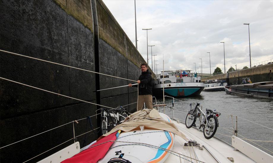 sluse kanalveien til middelhavet slusing