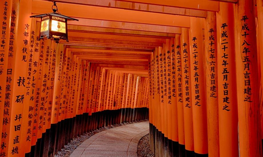 Japan, som å komme til fremtiden og fortiden