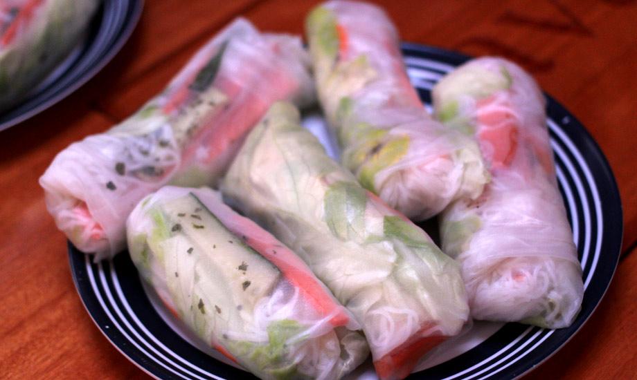 Ferske vårruller fra Kambodsja