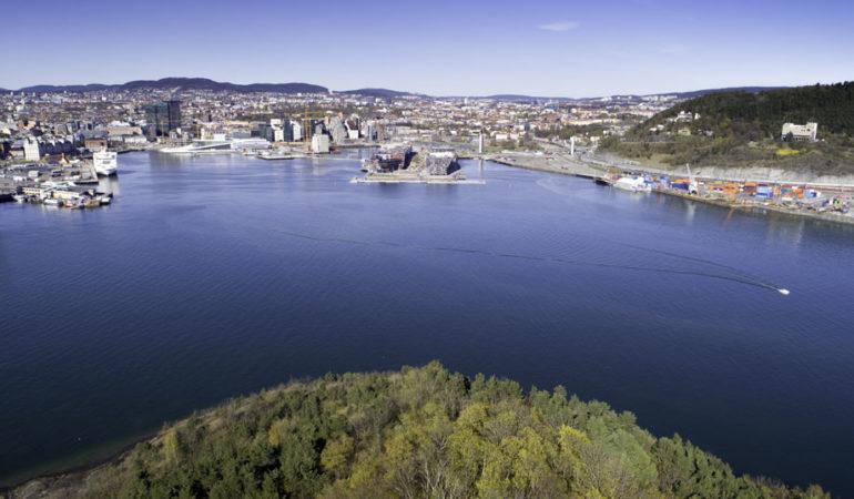 Dronefotografering med båten!